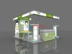 深圳cocopark商场百雀羚气韵化妆品展柜