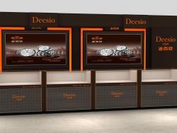 深圳迪西欧Deesio手表展柜