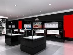 深圳KKmall商场天梭TISSOT手表专卖店展柜