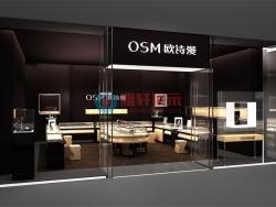 深圳龙岗OSM欧诗漫珠宝展柜专卖店