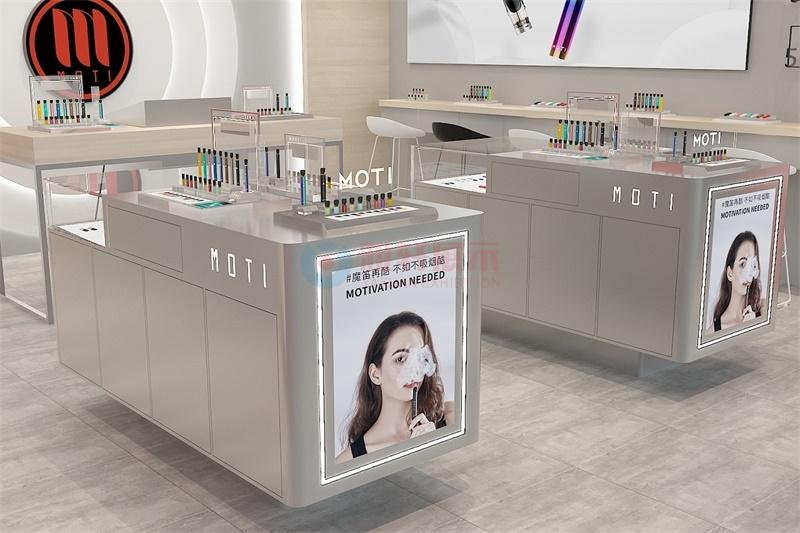 深圳魔笛电子烟专卖店展柜设计整店输出