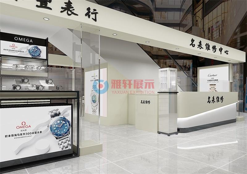 深圳卓悦中心商场香港林源丰手表专卖店展柜