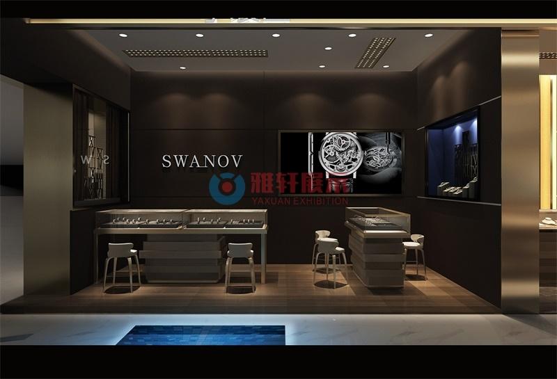 深圳SWANOV手表专卖店展柜